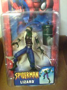 Spiderman Foes: Lézard, Sandman, Rhino, Morbius, Choquant, Kraven.