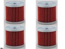4 Pack Oil Filter Suzuki,Kawasaki LTZ400 LTZ KFX400 KFX DRZ400 DRZ 400 MX/ ATV