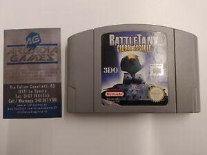 N64 Battle Tanx Global Assault PAL Loose