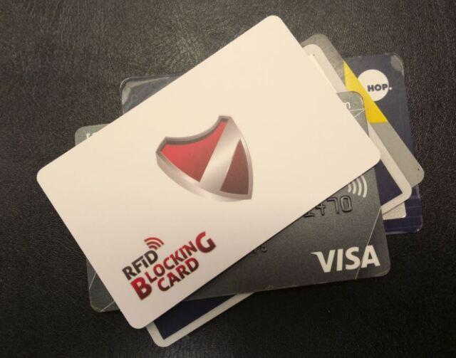 PayWave / TapnGo / PayPass RFID credit card protector - aka RFID Blocking Card