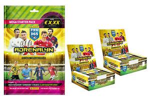 20 Booster Panini Adrenalyn XL FIFA 365 2021 Starterpack Sammelmappe