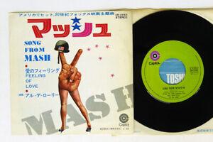 AL DE LORY SONG FROM MASH CAPITOL CR-2583 Japan VINYL 7