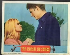JONATHAN-WINTERS-THE-RUSSIANS-ARE-COMING-EVA-MARIE-SAINT-LOBBY-CARDS-LC3019
