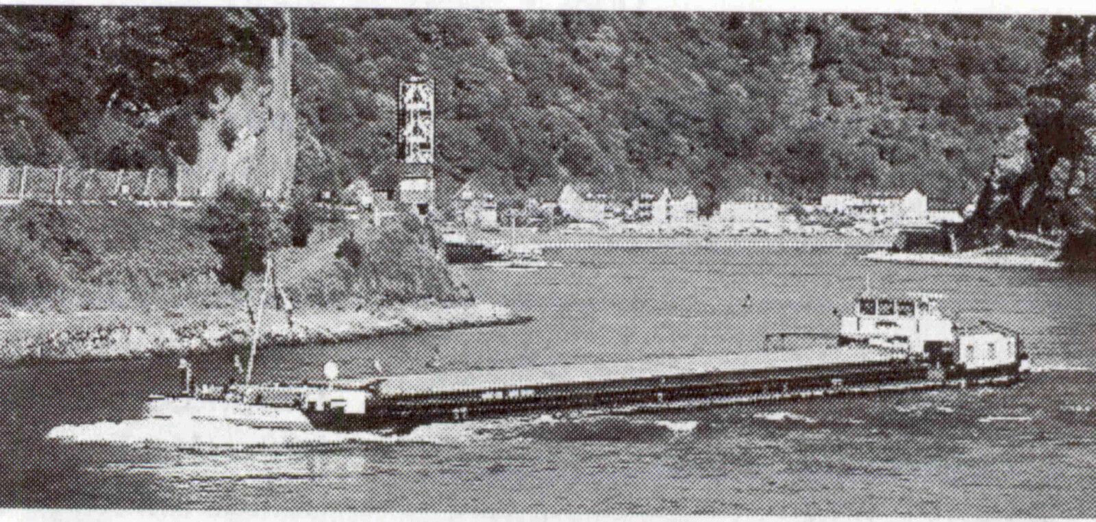 MS Panther. fluviali di 1961. edifici modello