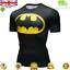 Mens-Marvel-Compression-Armour-Base-Layer-Gym-Top-Superhero-Cycling-T-shirt-fit thumbnail 7