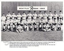 1960 SEATLLE RAINIERS PACIFIC COAST LEAGUE BASEBALL TEAM 8X10 PHOTO