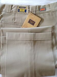 Dickies-1922-Collection-Chino-Trousers-30-Waist-34-Inside-Leg-New-Tags-S