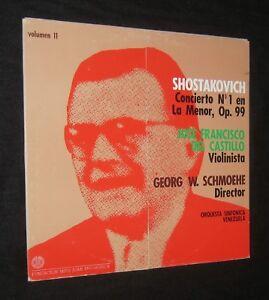 JOSE-FRANCISCO-DEL-CASTILLO-SHOSTAKOVICH-VIOLIN-VENEZUELA-PRESS-MITO-JUAN-LP