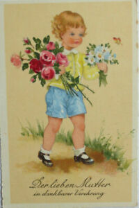 034-Kinder-Blumen-Muttertag-034-ca-1934