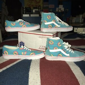 23865e9d204 MSG ME ABT odd future Sk8 Hi Donuts Blue Authentic Tyler Creator ...