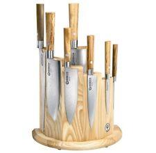 Böker Küchenmesserset Messerblock Damast Olive Damaststahl neu OVP