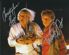 Michael J Fox / Lloyd Autographed Signed 8x10 Photo (Back to the Future) REPRINT