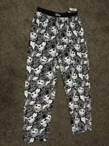 NEW Disney Store Jack Skellington Lounge Pants L Nightmare Before ... 335ea5e8e