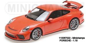 Minichamps 110067022 - Porsche 911 GT3 –2017 – orange L. E. .666 Pcs