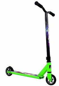 Mayhem Galaxy Pro Fixed Bar Stunt Kick Scooter Green NEW SAME DAY SHIP