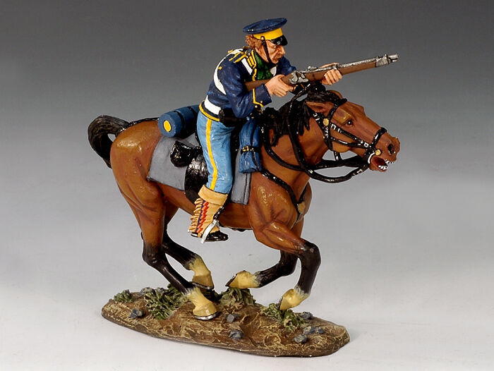 KING & COUNTRY THE REAL WEST TRW001 MOUNTED DRAGOON WITH RIFLE MIB