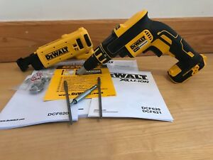 Dewalt-DCF620N-DCF6201-XR-18v-Collated-Brushless-Drywall-Screwdriver-Screw-gun