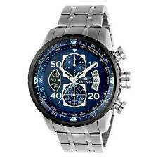 Invicta 22970 Men's Chrono Steel Bracelet Blue Dial Compass Watch