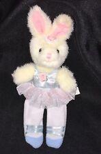 """BALLERINA BUNNY RABBIT FINGER PUPPET 9"""" RUSS Plush Stuffed Animal TOY"""