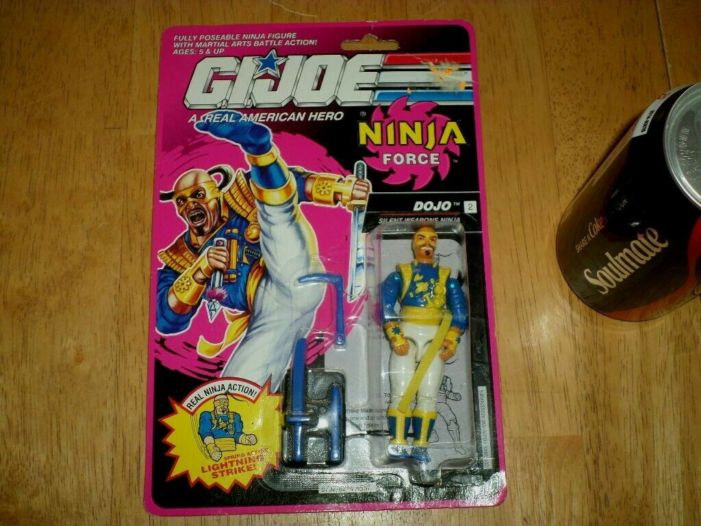 GI JOE NINJA NINJA NINJA FORCE - DOJO, Action Figure 3.75  1992 Hasbro Silent Weapons Ninja a79804
