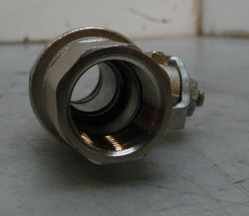 "WARRANTY NEW Parker Stainless Steel 1//2/"" Ball Valve K84-DIN-DVGW BVG4-1//2L"
