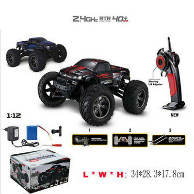 42km/h 1/12 Scale RC Car 2.4Ghz 2WD High Speed Remote Controlled TRACK US Stock