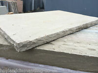 Thick Stone Hearth With Hand Dressed Edges Various Sizes, Free Uk Delivery