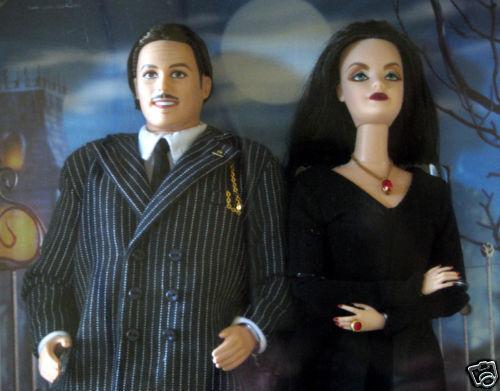 Barbie Ken como mortica Gomes Giftset la familia Adams Muñeca Barbie