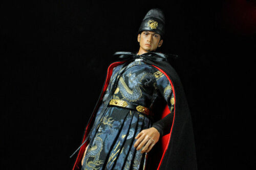 "Handmade 1:6th Red/&Black Ancient cloak Coat For 12/"" male Female Figure Body Toy"