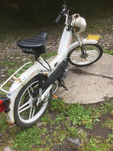 Puch Puch Maxi , 1993, ???? km, White, From Nederland.…