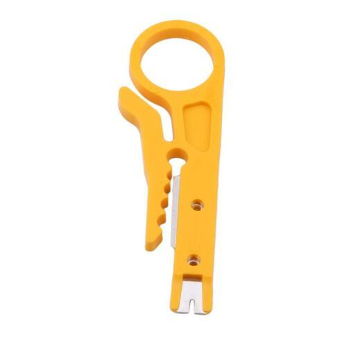 Pliers Crimp Tool Parts Wire Stripper Yellow Pocket Multifunction Mini Pocket LP