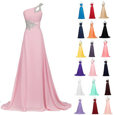GK Bridal Long Chiffon Evening Gown Bridesmaid Dress Prom Formal Party Ball Gown
