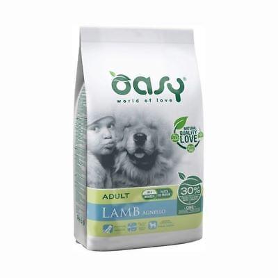 Caritatevole Oasy Dog Adult All Breed Agnello 12 Kg Monoproteico