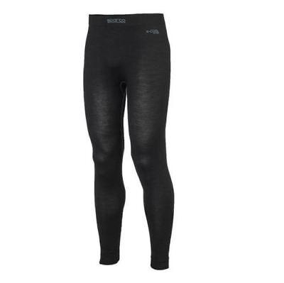 FIA Sparco Shield RW-9 Black M//L Underwear pants X-Cool Silver Long Johns