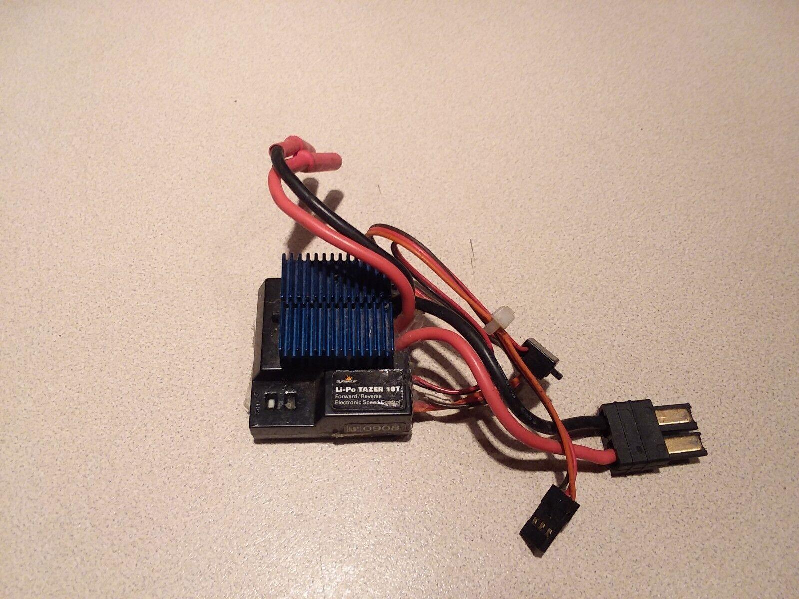 Dynamite - Li-Po Li-Po Li-Po Tazer 10T- Forward Reverse Electronic Speed Control (DYN4928) fb9414