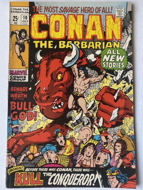 CONAN THE BARBARIAN #10 October 1971  Marvel Vintage