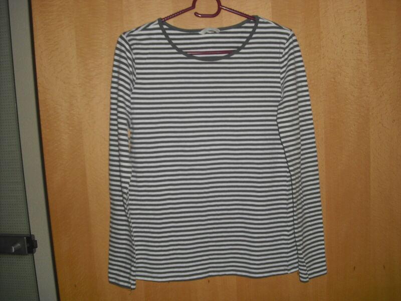 ** H&m ** - Langarmshirt ,gr. M; Olivgrün/weiß Produkte HeißEr Verkauf