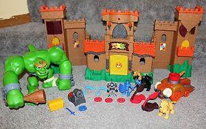 Imaginext Eagle Talon Castle Ogre Sounds Playset Set Lot Fisher Price Toys RARE