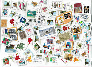 Canada-postage-stamps-x-109-used-Some-high-values-Batch-1