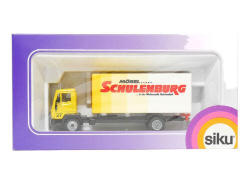 Mercedes 2301 Siku 2523 Koffer-LKW - Möbel Schulenburg 1:55 OVP