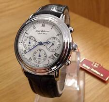 Ladies Krug-Baumen Classic Principle Black Seiko Mvt Watch 2011KL BNIB