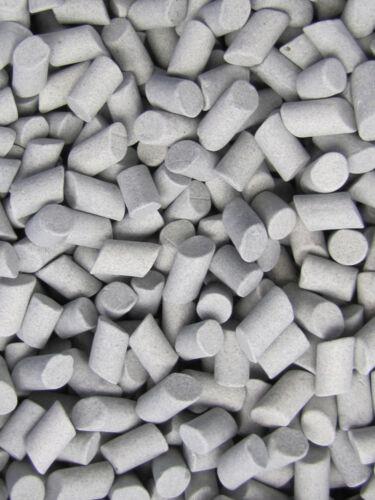 "3//8/"" X 5//8/"" Tumble Tumbler Lapidary Abrasive Ceramic Rock Tumbling Media 8 Lbs"