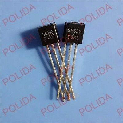 500pair OR 1000PCS Transistor FSC TO-92 SS8050//SS8550 SS8050D//SS8550D