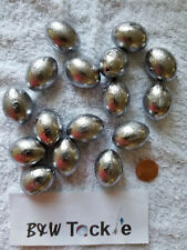 8 oz Egg 20 Sinkers Slip Fishing Lead Weights Free Shipping