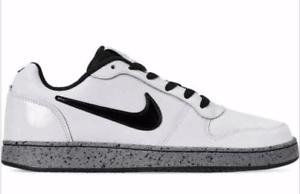 New Nike Ebernon Low White Black Cement