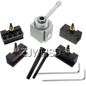 Mini-Quick-Change-Tool-Post-Holder-Kit-Set-for-7-x-10-12-14-034-Multifix-Toolholder