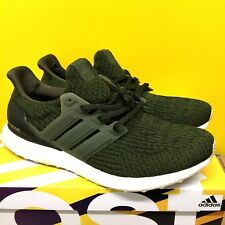 ead0831a0ab12 Adidas Ultra Boost 3.0 Military Green Night Cargo Olive 10.5UK 4D New Free  P+