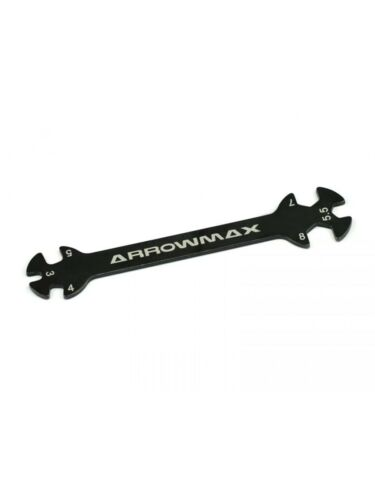 Llave fija tirantes 3.0-4.0-5.0-5.5-7.0-8.0mm Arrowmax AM190049