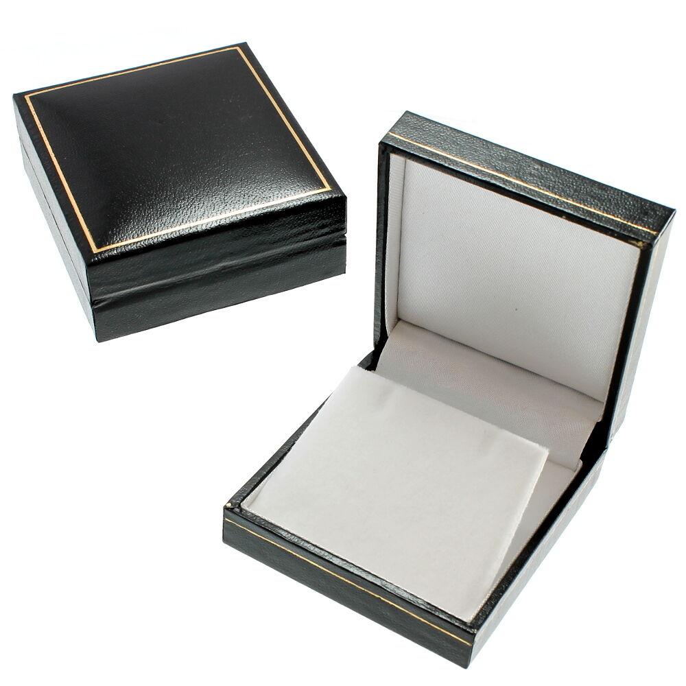 oro 9 CARATI ST St. Christopher Christopher Christopher ciondolo collana catena con scatola regalo - 2.1 G e02d2e