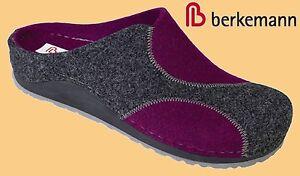 Fußbett Filztoffeln Damen Berkemann Puschen Filz Hausschuhe Pantoffeln Clogs wq05XPXt